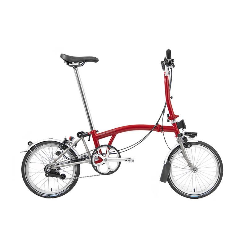 Superlight M6L House Red | Brompton Folding Bikes